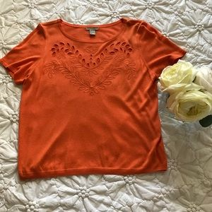 Women's H&M Orange Sweater
